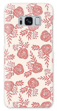 Load image into Gallery viewer, Warm Pink Floral Pattern - Phone Case