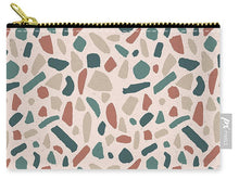 Load image into Gallery viewer, Warm Terrazzo Pattern - Carry-All Pouch