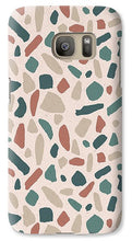 Load image into Gallery viewer, Warm Terrazzo Pattern - Phone Case