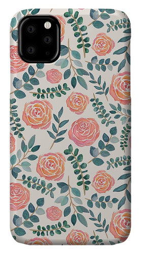 Watercolor Floral Pattern - Phone Case