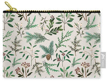 Load image into Gallery viewer, Winter Berry Pattern - Carry-All Pouch