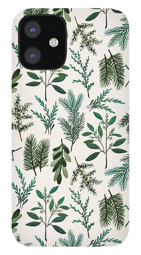 Winter Branch Pattern - Phone Case