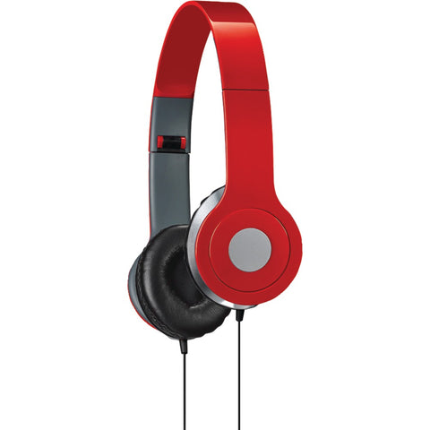 ILIVE iAH54R On-Ear Headphones (Red)