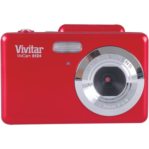 VIVITAR VS124-RED 16.1-Megapixel Digital Camera