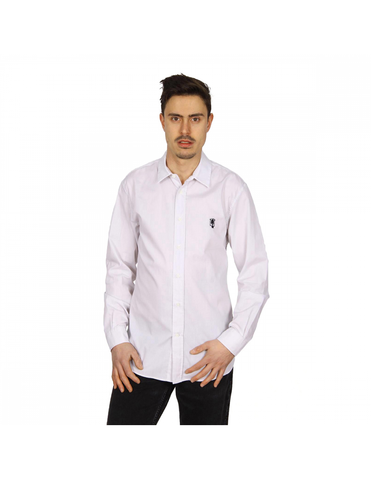 Marc Jacobs mens shirt long sleeve S84DL0185 S37076 101F: Marc Jacobs mens shirt long sleeve S84DL0185 S37076 101F White 48 EUR - M