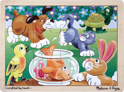 Playful Pets Jigsaw (12 pc)