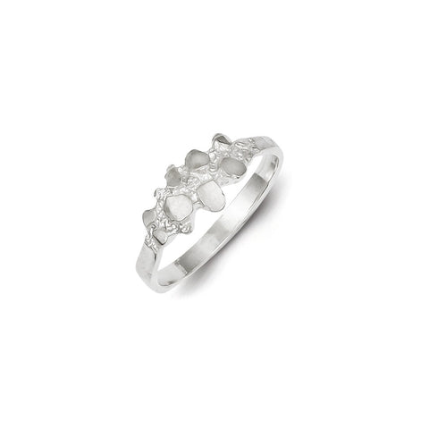 925 Sterling Silver Chic Nugget Ring: Size: 6