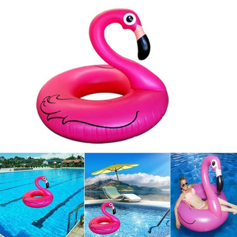 Swimming Pool Kids Giant Ride Flamingo Inflatable Float Toy 4ft