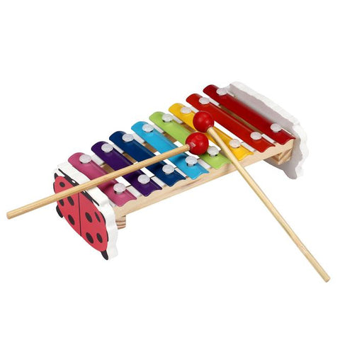 Baby Kid 8-Note Xylophone Musical Toys Wisdom Development Wooden