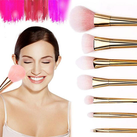 7Pcs Set Professional Brush High Brushes set Make Up  Blush Brushes Makeup Brush