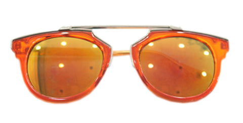 Fashion Kids Polarized Sunglasses UV 400 Rated Age 3-10 Orange