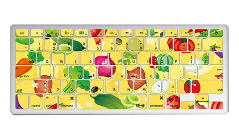 "1 Piece MacBook Pro 13"""" Keyboard Sticker Decal Keyboard Skin Vegetables"