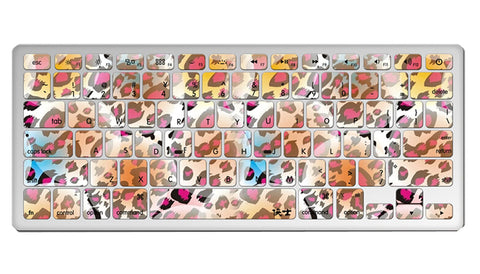 "1 Piece MacBook Pro 13"""" Keyboard Sticker Decal Keyboard Skin, Sexy Leopard"