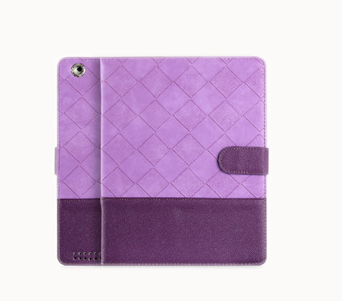 Superior Protective Case for IPad 4/3/2 Deep purple & Purple (Quiet Lavender )