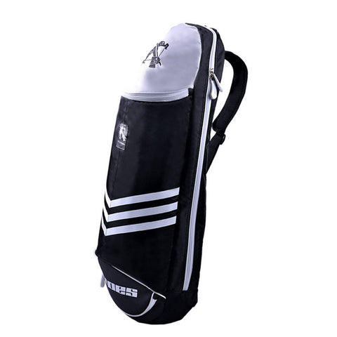 Waterproof Badminton Racket Cover Racquet Bag Sling Bag Backpack Sports - Black