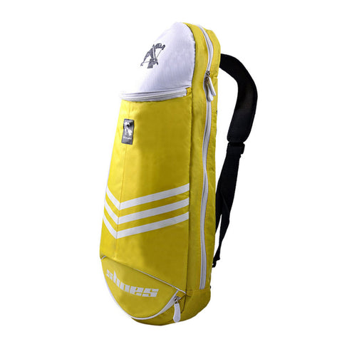 Waterproof Badminton Racket Cover Racquet Bag Sling Bag Backpack Sports - Yellow