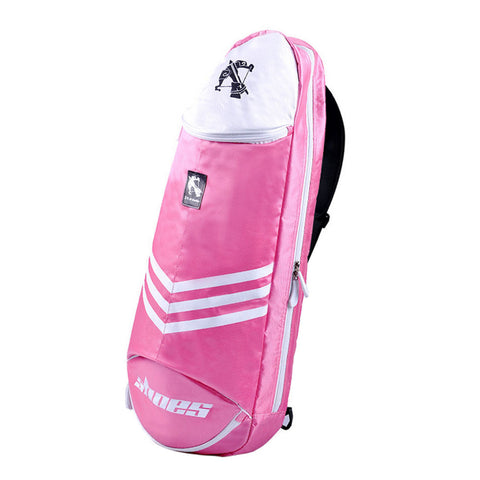Waterproof Badminton Racket Cover Racquet Bag Sling Bag Backpack Sports - Pink