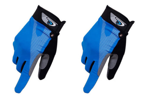 Perfect for Summer Use Climbing Gloves Outdoor Sport Gloves Gym Gloves Blue