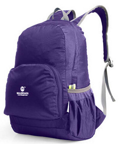 Purple Outdoor Backpacks Camping Backpacks Running Bags Climbing Backpacks 20L