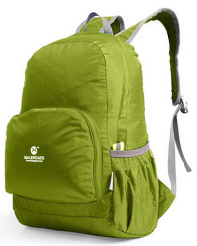 Green Outdoor Backpacks Camping Backpacks Running Bags Climbing Backpacks 20L