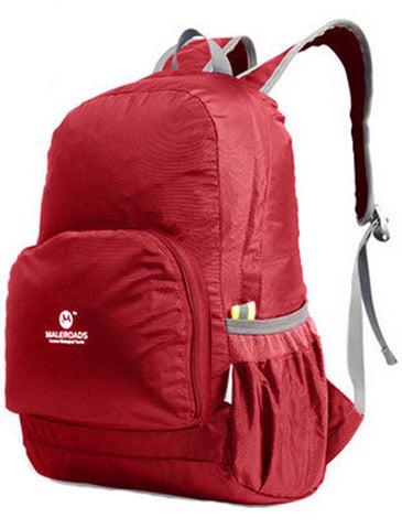 Red Outdoor Backpacks Camping Backpacks Running Bags Climbing Backpacks 20L