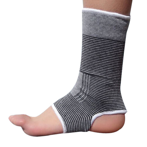 1 Pair Warm Ankle Support Men Women Foot Support Free Size GREY