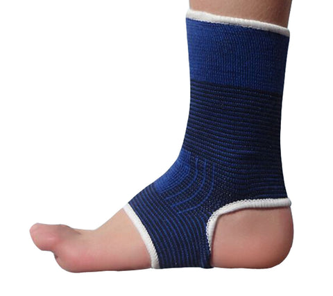 1 Pair Warm Ankle Support Men Women Foot Support Free Size BLUE