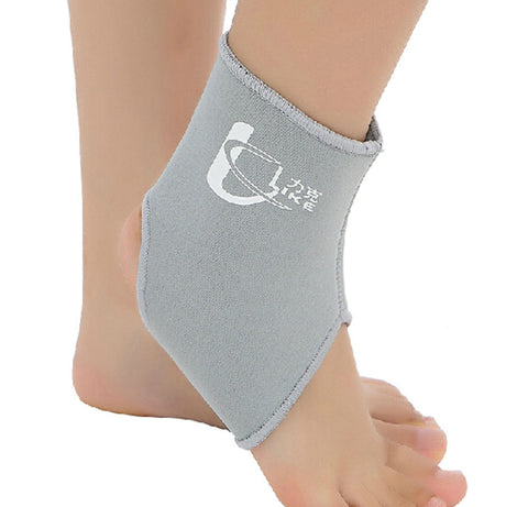 1 Pcs Breathable Ankle Foot Brace Support Pad Free Size GREY