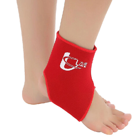 1 Pcs Breathable Ankle Foot Brace Support Pad Free Size RED