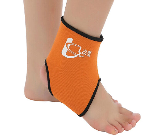 1 Pcs Breathable Ankle Foot Brace Support Pad Free Size ORANGE