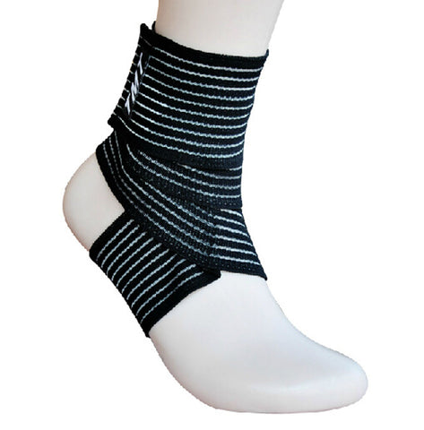 1 Pair Breathable Men Women Ankle Foot Brace Support Pad Free Size