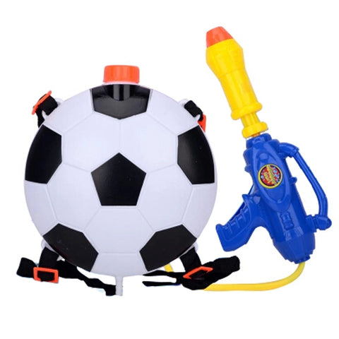 Children's Backpack Plastic Water Gun Water Pistol Squirt Games, Football
