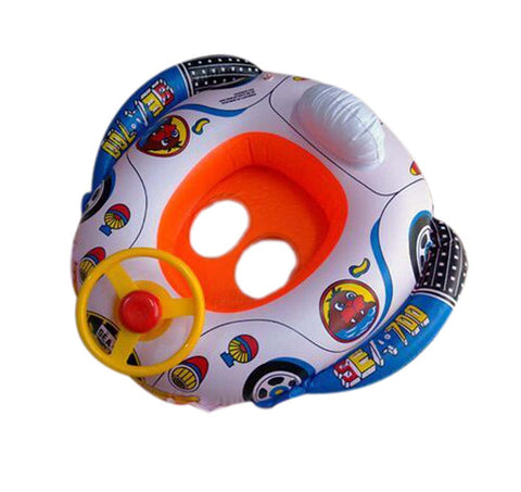 Baby Infant's Inflatable Water Float Pool Float BLUE