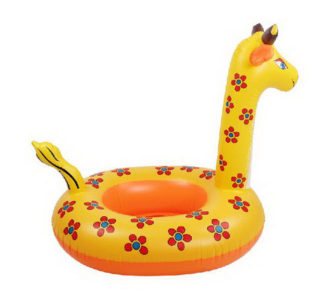 Giraffe Ride-On Pool Toys for Kids Inflatable Floats