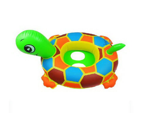 Turtle Ride-On Baby Floats Seat Pool Floats