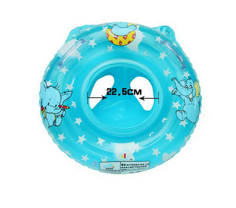Baby Inflatable Floats Pool Floats Swim Ring BLUE