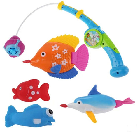 Baby Bath toys for Children Early Childhood Educational Toys Fishing Spray Water