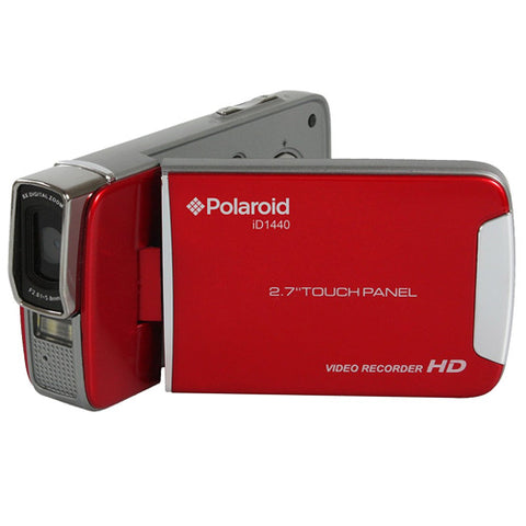"14.1MP HD Camcorder with 2.7"""" Touch Screen"