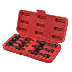 "3/8"""" Drive 7 Piece Extended Length SAE Impact Hex Driver Set"