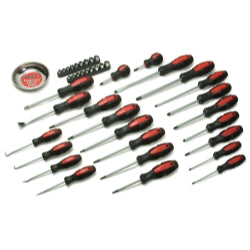 42 Piece Screwdriver Set with Mini Parts Tray