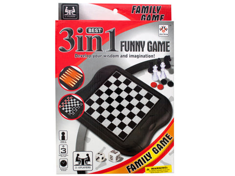 3-in-1 Classic Game Set: Case of 6