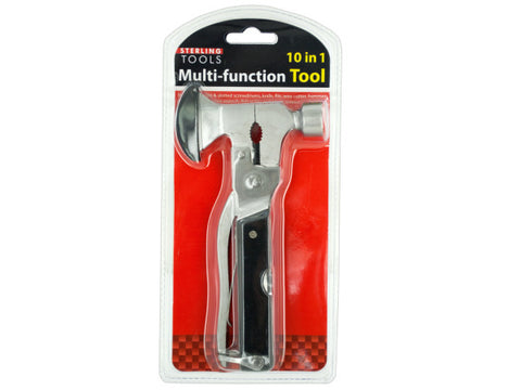 10 in 1 Multi-Function Hammer & Axe Tool: Case of 1