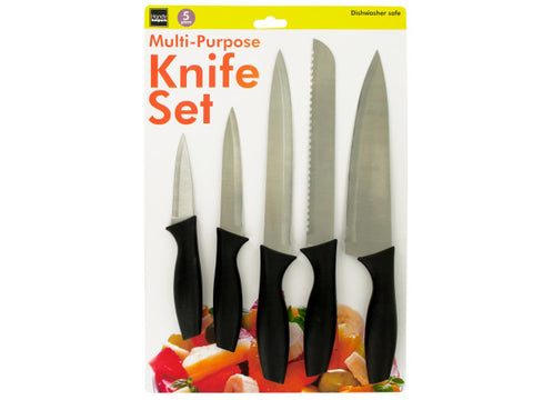 Multi-Purpose Kitchen Knife Set: Case of 1