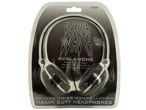 Cushioned Noise Cancellation Headphones: Case of 6