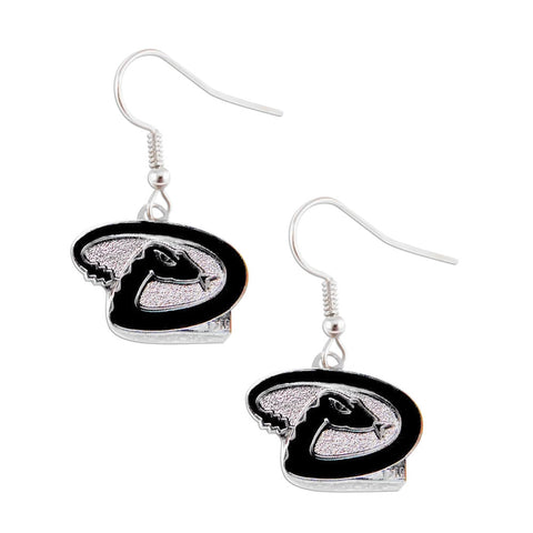 Arizona Diamondbacks Dangle Logo Earring Set Mlb Charm Gift