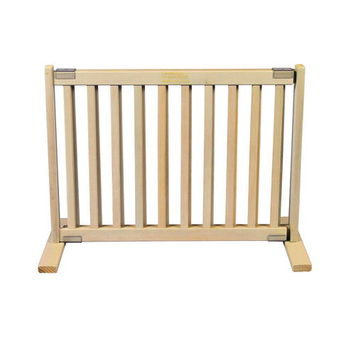 "20"""" Kensington All Wood Small Free Standing Gate Warm White"