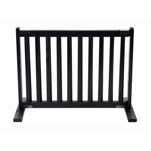 "20"""" Kensington All Wood Small Free Standing Gate Black"