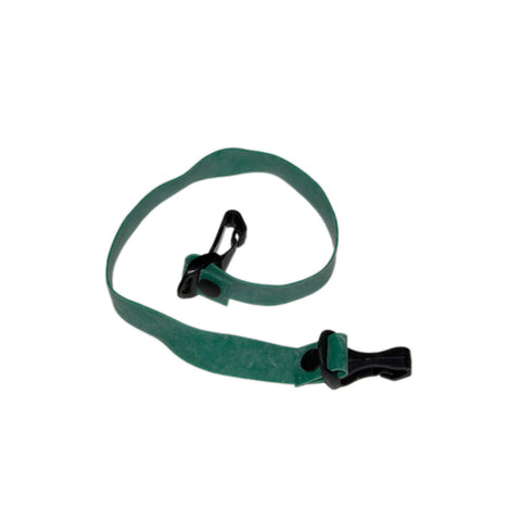 Cando Massage Fitness Equipment Adjustable Exercise Band, Green - Medium
