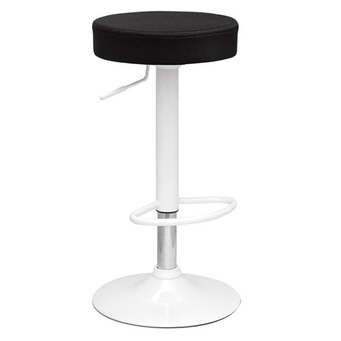 Fine Mod Imports Decorative Furniture Angle Bar Stool, Black