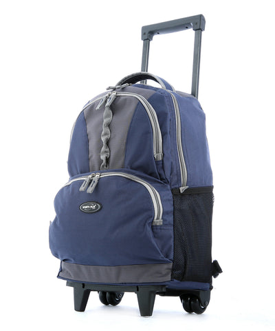 "18"""" ROLLING BACKPACK (NAVY)"